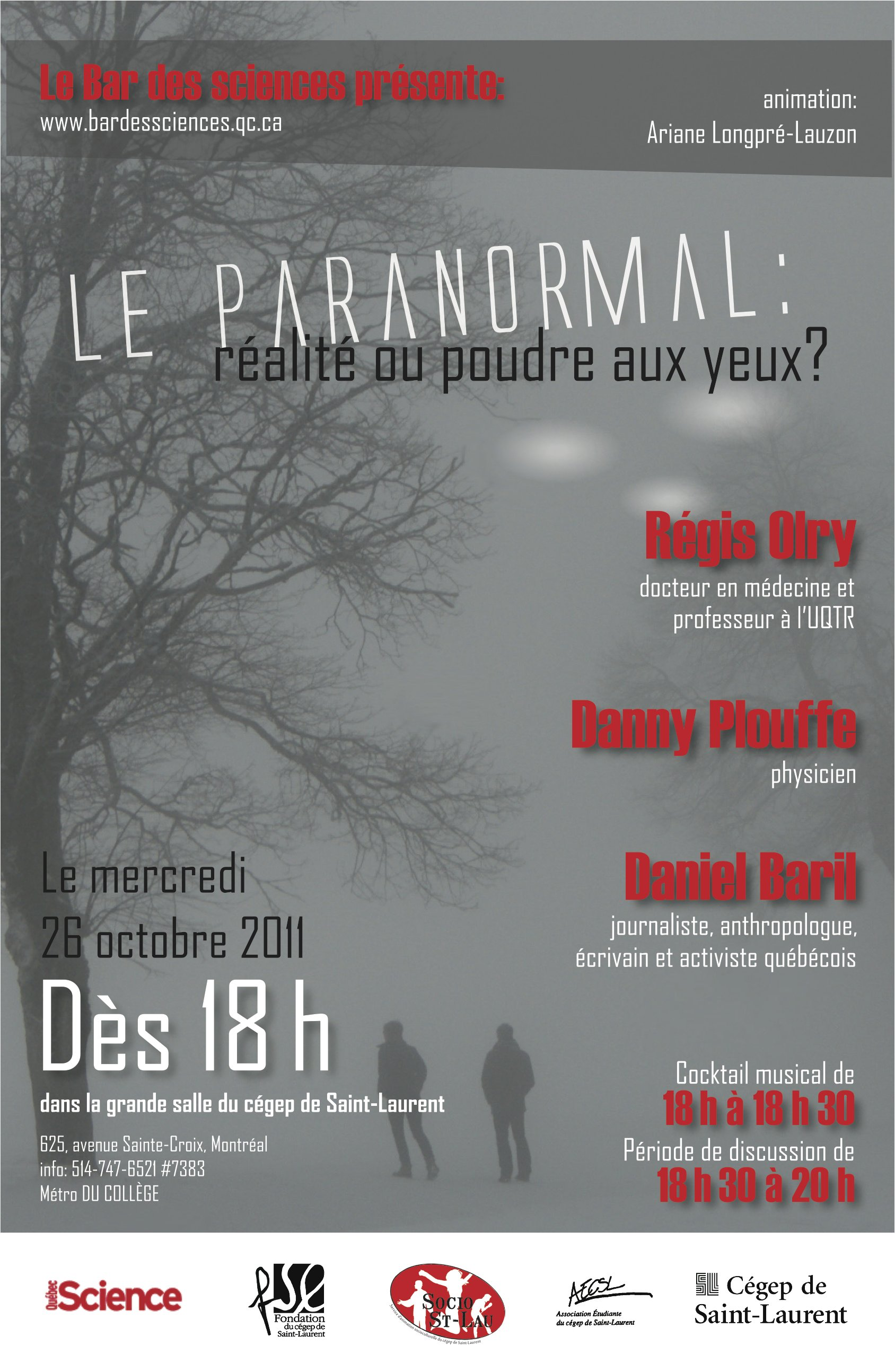 Tva rencontres paranormales